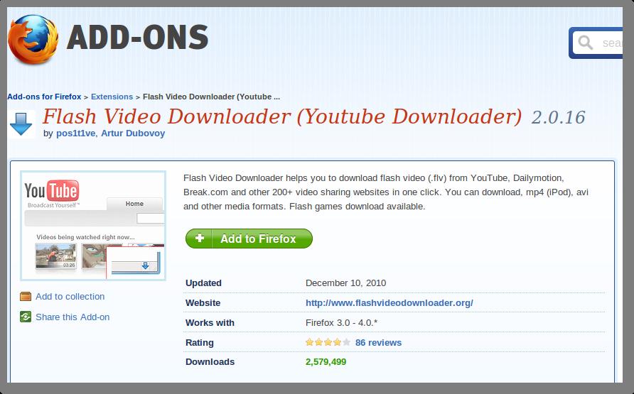 Easy youtube video downloader express – consigue esta extensión.