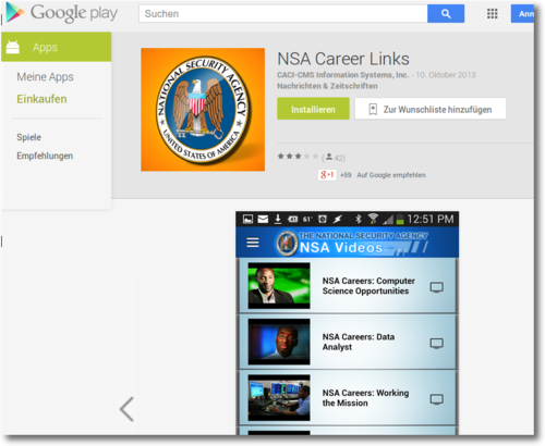 nsa apps